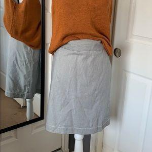 ⬇️REDUCED! Talbots pinstriped skirt